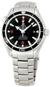 Omega Men's Seamaster Black Dial Watch.  $4,455.00