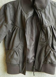 Kup mój przedmiot na #vintedpl http://www.vinted.pl/damska-odziez/kurtki/9926441-brazowa-skorka-kurtka-34