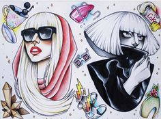The Fame/The Fame Monster Tattoo design