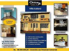 #OlimpiadaC21 Casa con Planta Alta 3 hab  3 baños  1 sala de entretenimiento.  Pb. 1 baño de visitas y dos anexos tipo apartamento uno de los cuales puede ser utilizado como local comercial. Agenda tu cita al 0414 2411884 / bsalazardem@gmail.com #BienesRaices #Inmuebles #Inmobiliaria #EnVenta #Casa #VentaDeInmuebles #VentasPzo #Luxury #C21 #GuayanaPlaza #Pzo #Puertoordaz #Guayana