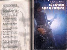 """Mención en el libro """"El Salvador sube a los escenarios"""" sobre Subterránica. Escrito por Joel Barraza."""