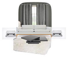 """Studio"" by cms-teacher on Polyvore featuring interior, interiors, interior design, home, home decor, interior decorating, Duck River Textile, Safavieh and Rove Concepts"
