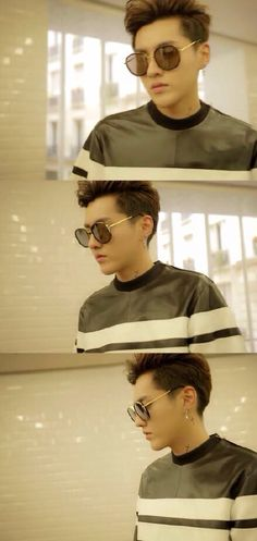 I'd say Kris has the most swag in EXO if he still were part of it! I mean... *sigh*