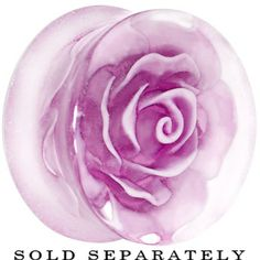 Light Purple Roses - Bing Images Body Jewelry Piercing, Gauges Plugs, Unusual Jewelry, Purple Roses, Body Mods, Light Purple, Clear Acrylic, Piercings, Jewelry Accessories