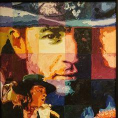 Jerry Blank - #StevieRay Vaughn - Original Acrylic on Canvas 24 x 30