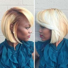 """It can not be repeated enough, bob is one of the most versatile looks ever. We wear with style the French """"bob"""", a classic that gives your appearance a little je-ne-sais-quoi. Here is """"bob"""" Despite its unpretentious… Continue Reading → Curly Bob Hairstyles, Black Women Hairstyles, Trendy Hairstyles, Curly Hair Styles, Natural Hair Styles, Hairstyles 2016, Short Haircuts, Straight Hairstyles, Ladies Hairstyles"""