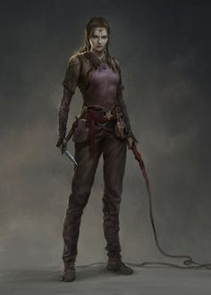 """f Cleric Slaver Breast Plate Whip Dagger underdark undercity N we-are-rogue: """"Rogue by qingkai yang """""""