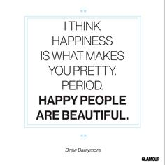 Happiness Quotes: Glamour.com