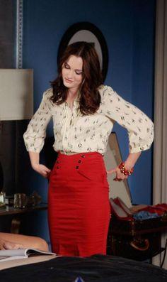 Parker blouse.  Topshop skirt.  Noir bracelet.