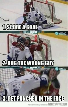 hahahha this looks like something I could see happening to me (if I ever make a goal hahahaha)