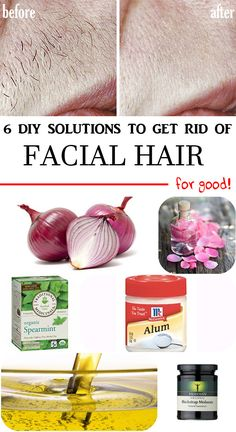 6 DIY solutions to remove facial hair