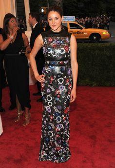 Christopher Kane Dresses At The Met Gala 2012