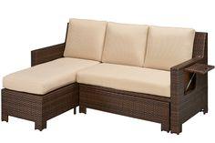 Outdoor Futon Sectional Sofa Bed | The Futon Shop