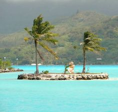 Bora Bora, French Polynesia - Provided by The Huffington Post Bora Bora, Tahiti, Places Ive Been, Places To Go, Society Islands, Bucket List Destinations, French Polynesia, Warm Weather, Beautiful Places