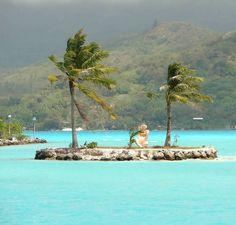 Bora Bora, French Polynesia - Provided by The Huffington Post
