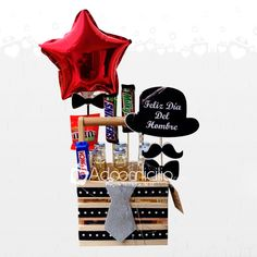 Fathers Day Gift Basket, Fathers Day Gifts, Honey Shop, Creative Box, Diy Cards, Small Gifts, Gift Baskets, Gift Wrapping, Birthday Cards