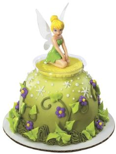 Tinker Bell Cake we can do this with The Pampered Chef classic batter bowl.