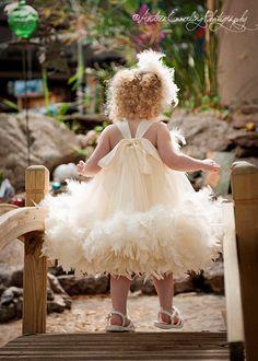 Little Miss Princess Flower Girl Dress by MelissaJaneBoutique