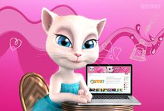 My Youtube channel is my place to share all my favorite things: fabulous fashion, makeup, yummy food, inspiring moments, sparkling ideas, and all my fun DIY projects! <3 #talkingangela #littlekitties #mytalkingangela