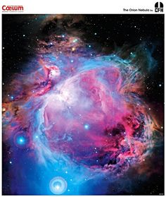 The Orion Nebula-what a mighty God we have that has created such beautiful things!!!