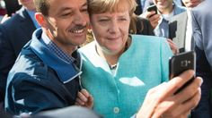 Germany's right-wing party leader has demanded that Chancellor Angela Merkel step down over her controversial handling of the refugee crisis. Mass Migration, Anne Will, Cologne, Selfies, Political Pictures, Refugee Crisis, Today Show, Germany, Love