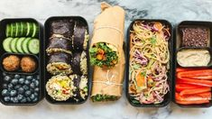 On the Go Vegan Lunch Ideas for School or Work (Bento Box)  - YouTube