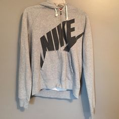 Nike zip up hoodie Faded because of age. But still in good condition. Nike 88d664cbd