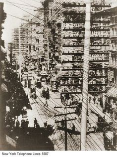 New York Fun Facts: When the Metropolitan Telephone and Telegraph Company opened in 1878, only 271 New Yorkers had telephones.