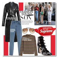 """Fashion Week '17..."" by nfabjoy ❤ liked on Polyvore featuring Michael Kors, Attico, Dundas, STELLA McCARTNEY, Jimmy Choo, Givenchy, The Cambridge Satchel Company, fashionWeek and fashionset"