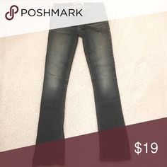 Hollister Jeans Hollister jeans, boot cut. SUPER cute and great fit, but unfortunately too tight on my hips Hollister Jeans Boot Cut
