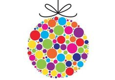 Colorful Xmas Ornament Vector