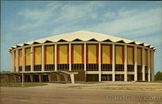 Unused Postcard The Mississippi Coliseum Jackson MS Places To See, Places Ive Been, Jackson Mississippi, Gulfport Mississippi, Miss Images, Historic Homes, Southern Style, Back In The Day, Vintage Postcards