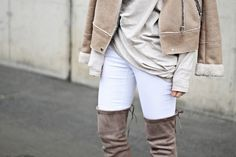neutral layers Style Diary, My Outfit, Lifestyle Blog, White Jeans, Neutral, Layers, Pants, Outfits, Fashion