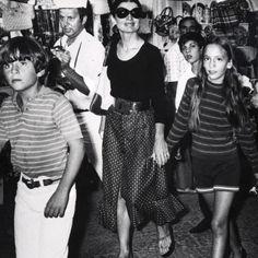Valentino and Jackie Kennedy Onassis