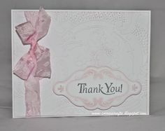 Thank you card - 3 Girl Jam Challenge/FWF