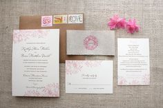 Rustic Florals Wedding Invitation | Flickr - Fotosharing!