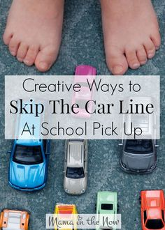 The dreaded car line at school pick up. Every parent would love to skip it all together, but how?! Get creative ideas from a mother of four who sits in at least four car lines a day!