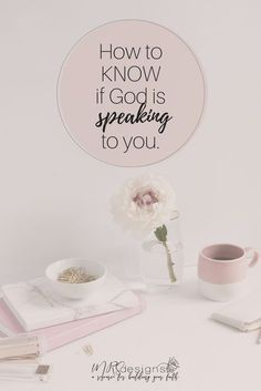 How to Know if God is Speaking to You. Faith | Christianity | How to | God | Relationships | Love | Bible- MRSdesigns.net