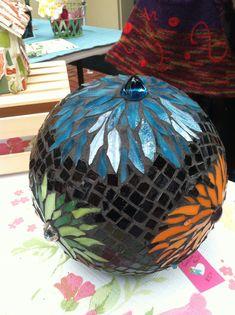 Gazing Ball by Flower Floozy Designs