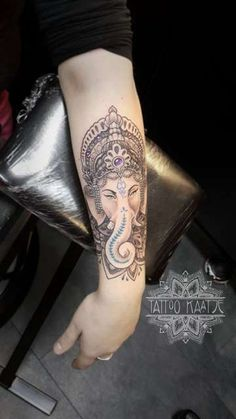 ganesha - tattoo - dotwork