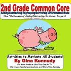 This is a must have for any 2nd grade common core classroom. Nine creative differentiated addition/subtraction math projects that coorelate with ...