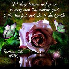 Romans 2:10 KJV