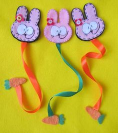 my little bunny bookmarks