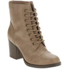 1e9d21b3233 Faded Glory - Faded Glory Women s Heel Boot - Walmart.com. Botas De Salto  Alto · Sapatos ...