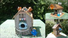 The winners of our Build Bella a Birdhouse Contest