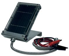 Primos 6 Volt Solar Panel Charger for Game Feeders and Trail Cameras - http://www.binocularscopeoptics.com/primos-6-volt-solar-panel-charger-for-game-feeders-and-trail-cameras/