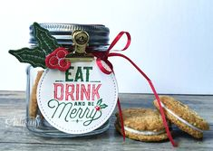 In The Cat Cave: Eat Drink and Be Merry: A Gift Jar   Let's Get Hopping