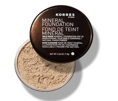 Rose Face Powder: Powder your nose—and the rest of your face— with rose. The wild rose extract in Korres Wild Rose Mineral Foundation SPF 30, $20, contains vitamin C to brighten skin as the finely-milled all-mineral formula fakes a flawless face. #SelfMagazine