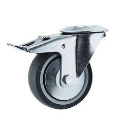 Lenkrolle 125 mm PU//ElastikSchwerlast