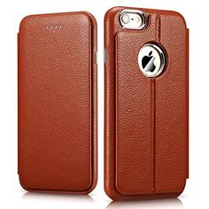 iPhone 6 Plus Case, [2 in 1 Style] [Detachable Magnetic] Folio Flip Cover Case [Wristlet Strap], Genuine Leather Case [Card Slot] [Simple Stand] for iPhone 6 Plus 5.5 inch (Brown) I-CARER http://www.amazon.com/dp/B00T9JQVQU/ref=cm_sw_r_pi_dp_Medyvb0ESD2E7
